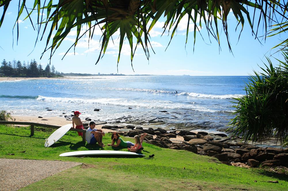 Kings Beach Caloundra Location