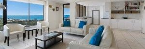 Apartment accommodation in Caloundra
