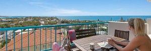 Views towards Shelly and Moffatt Beaches