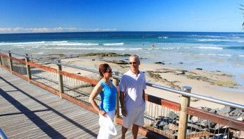 Caloundra boardwalk, Kings Beach