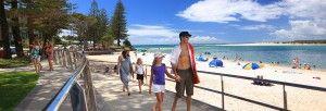 Enjoy Caloundra beach holidays from Burgess Kings Beach