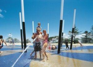 Kings Beach Water Pools