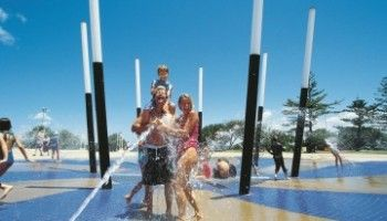 Kings Beach water park